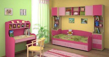 Акция на детскую мебель на заказ